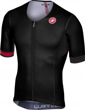 Castelli Free speed race jersey tri top black men