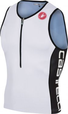 Castelli Core 2 tri top white/black men