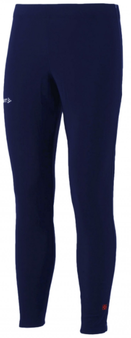 Craft Thermo skate tight with zip navy unisex