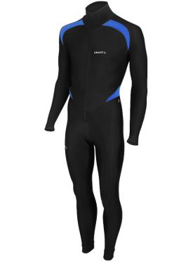 Craft Thermo skatesuit colorblock black/blue unisex