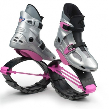Kangoo Jumps Powershoe Special Edition silver pink