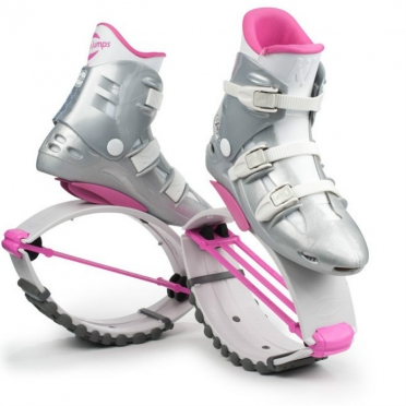 Kangoo Jumps XR3 White Edition white pink