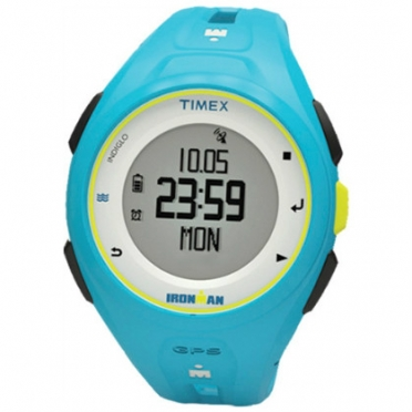 Timex Ironman sports watch Run x20 GPS Bright Blue TW5K87600