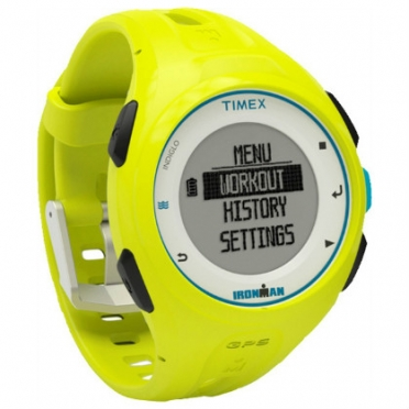 Timex Ironman sports watch Run x20 GPS Lime TW5K87500