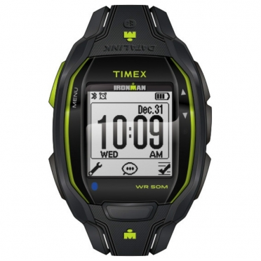 Timex Ironman sports watch Run x50+ Anthracite/lime TW5K84500