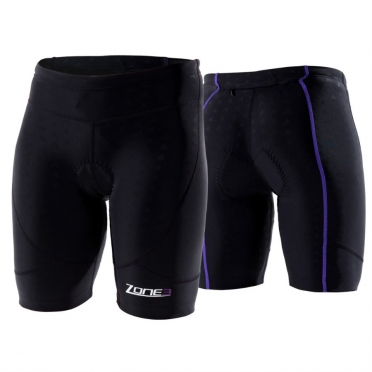 Zone3 Aquaflo Tri short black women 2015