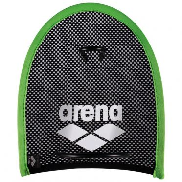 Arena Flex hand paddles green