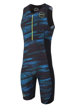 Zone3 Activate plus sleeveless trisuit Stealth speed men