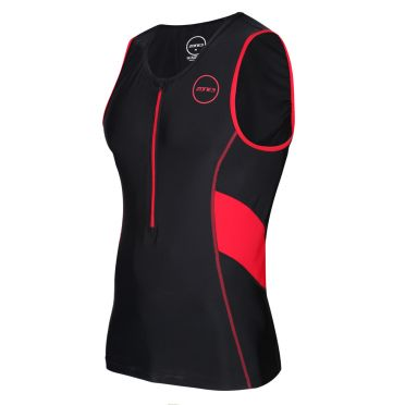 Zone3 Activate tri top sleeveless black/red men