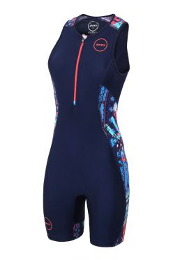 48060363fb5fa Zone3 Activate plus sleeveless trisuit Latin summer women
