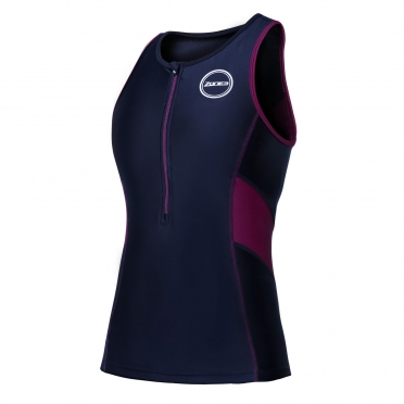 Zone3 Activate tri top black/purple women