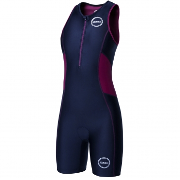Zone3 Activate tri suit black/purple women