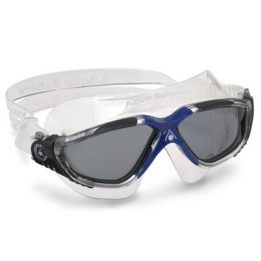 Aqua Sphere Vista smoke lens goggles dark blue