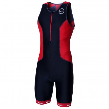 Zone3 Aquaflo plus tri suit black/red men