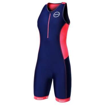 Zone3 Aquaflo plus tri suit blue/red women