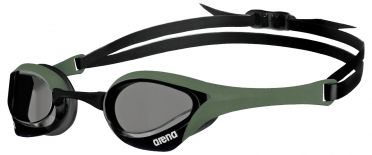 Arena Cobra ultra swipe swimming goggles gray/army/black