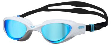 Arena The One mirror swimmingoggles blue