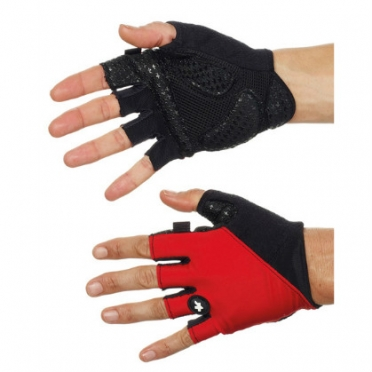 Assos summerGloves_s7 red unisex