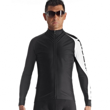 Assos Milleintermediate_evo7 cycling jacket black/white men