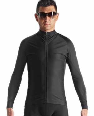 Assos milleintermediate_evo7 cycling jacket black men