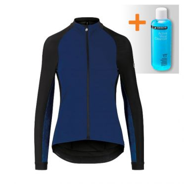 Assos Uma GT spring fall jacket blue women