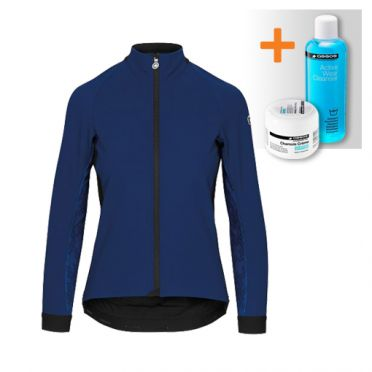 Assos Uma GT winter jacket blue women