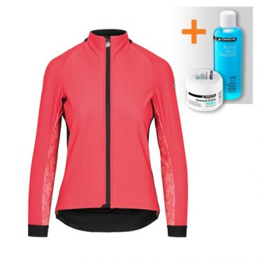 Assos Uma GT winter jacket pink women