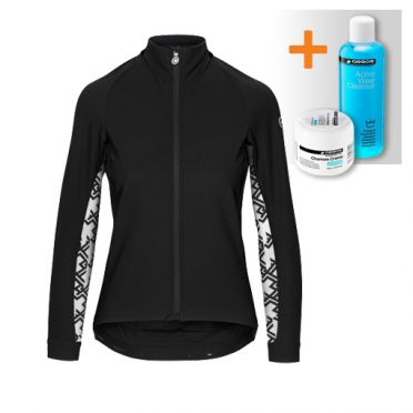 Assos Uma GT winter jacket black women