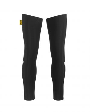 Assos Spring/fall leg warmers black unisex