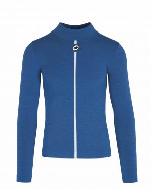Assos Skin Layer Winter LS undershirt blue men