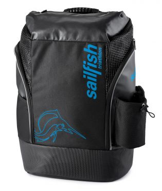 Sailfish Triathlon backpack cape town 35 liter black/blue