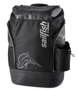 Sailfish Triathlon backpack cape town 35 liter black/silver