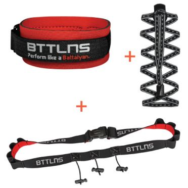 BTTLNS Triathlon accessories discount package black