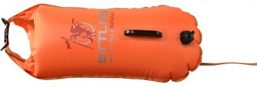 BTTLNS Saferswimmer buoy dry bag 28 liter Poseidon 1.0 Orange