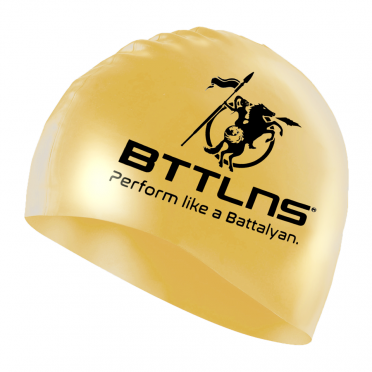BTTLNS Silicone swimcap blessed gold Absorber 2.0
