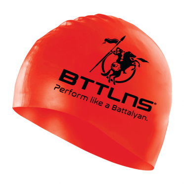 BTTLNS Silicone swimcap red Absorber 2.0
