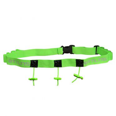 BTTLNS Race number belt Keeper 2.0 green