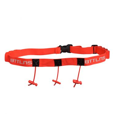 BTTLNS Race number belt Keeper 2.0 red