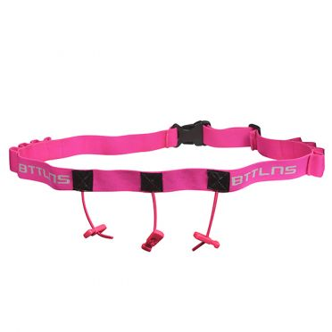 BTTLNS Race number belt Keeper 2.0 pink