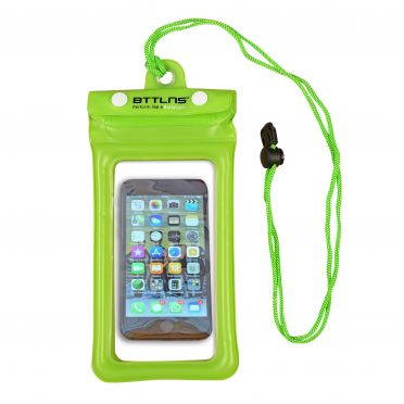 BTTLNS Endymion 1.0 floating waterproof phone pouch green