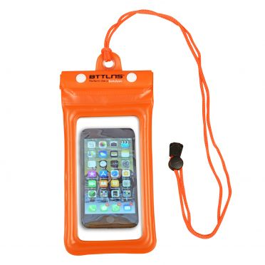 BTTLNS Endymion 1.0 floating waterproof phone pouch orange