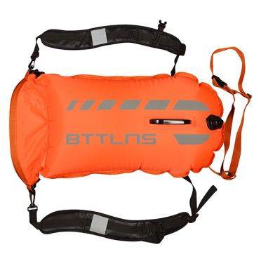 BTTLNS Tethys 1.0 safeswimmer buoy 35 liters orange
