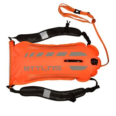 BTTLNS Saferswimmer security lighted buoy dry bag Scamander 2.0 orange