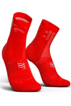 Compressport V3.0 ultralight bike socks red