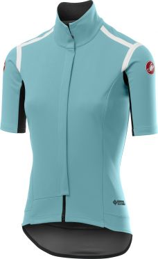 Castelli Gabba RoS W cycling vest short sleeve light blue women
