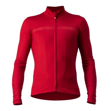 Castelli Pro thermal Mid long sleeve jersey red men