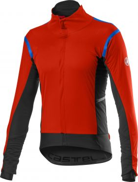 Castelli Alpha RoS 2 cycling jacket red men