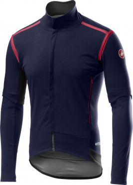 Castelli Perfetto RoS Convertible cycling jacket blue men