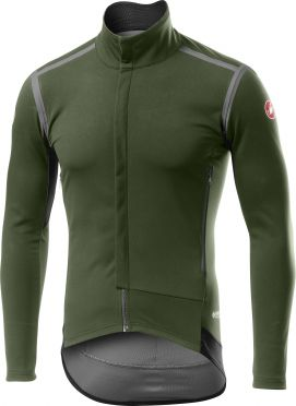 Castelli Perfetto RoS long sleeve cycling jacket green men