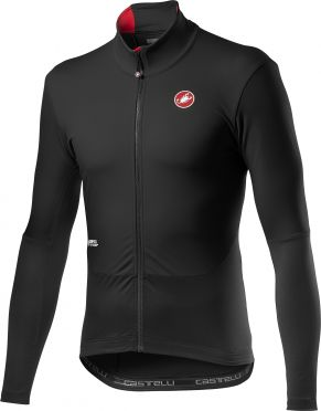 Castelli Nano mid wind jersey long sleeve black men